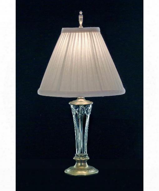 Stratton 1 Light Accent Lamp In Milano Silver