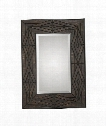 "Bolsena 29"" Wall Mirror in Hand Rubbed Espresso Stain"