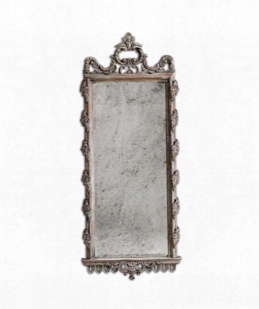 """Via Giulia 28""""wall Mirror In Mango Wood"""