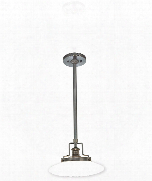 "Beacon 12"" 1 Light Mini Pendant In Old Bronze"