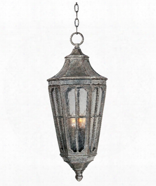 "Beacon Hill 13"" 3 Light Outdoor Hanging Lantern In Sienna"