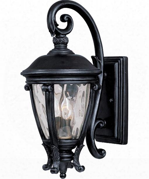 """Camden Vx 9"""" 2 Light Outdoor Outdoor Wall Light In Black"""