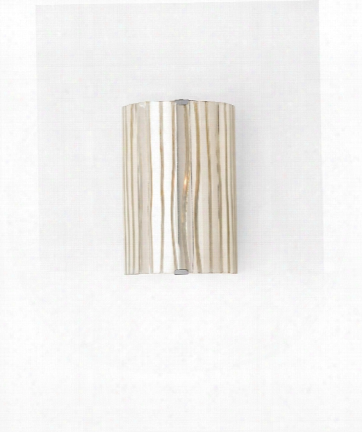 "Hess 8"" 1 Light Wall Sconce In Mercury Glass"