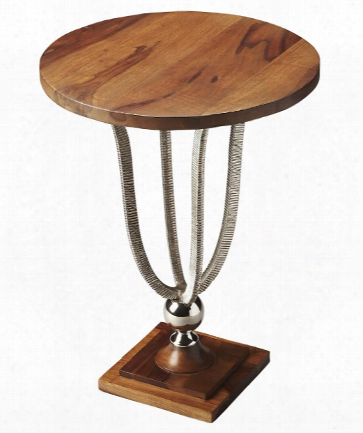 """Modern Expressions 16"""" Accent Table In Multi-color"""
