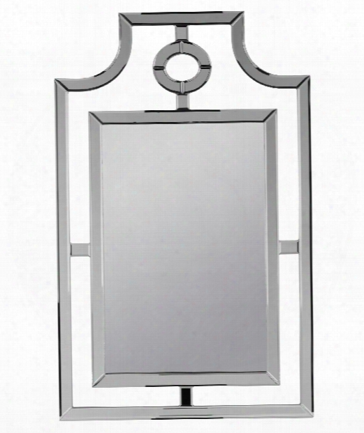 "Silverson 30"" Wall Mirror In Frameless Mirror"