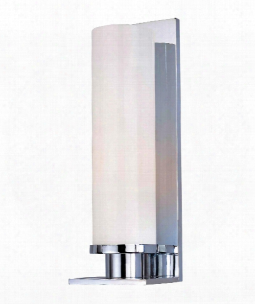 "Thompson 5"" 1 Light Wall Sconce In Polished Chrome"