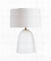 "Hariette 21"" 1 Light Table Lamp in Linen Etched"