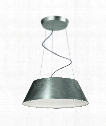 "Ledino 23"" LED 24 Light Large Pendant in Silver"