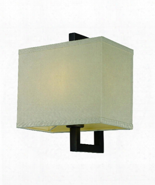 "Baldwin 10"" Led 1 Light Wall Sconce In Dark Bronze"