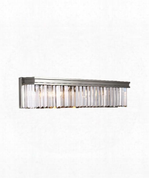 "Carondelet 26"" Led 4 Light Bath Vanity Light In Brushed Nickel"