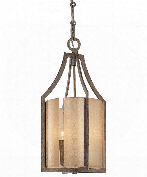 "Clarte 12"" 3 Light Mini Pendant In Patina Iron"