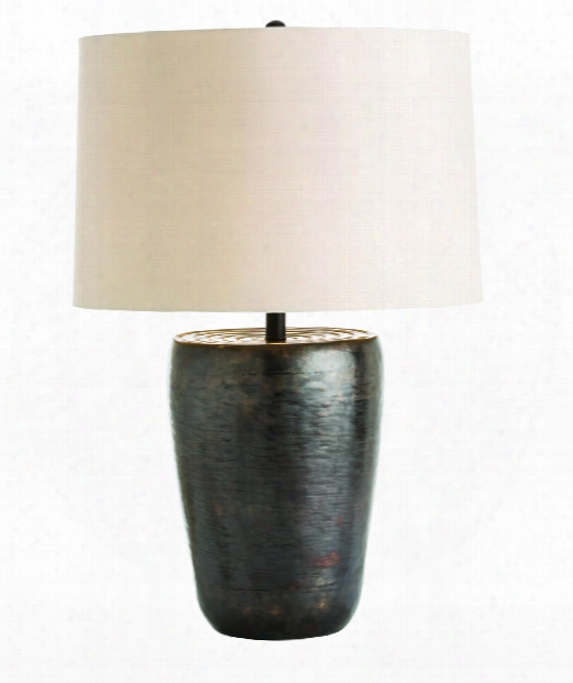 Clint 1 Light Table Lamp In Antique Bronze