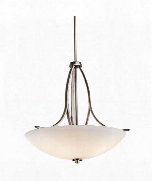 "Granby 24"" 3 Light Large Pendant In Brushed Pewter"