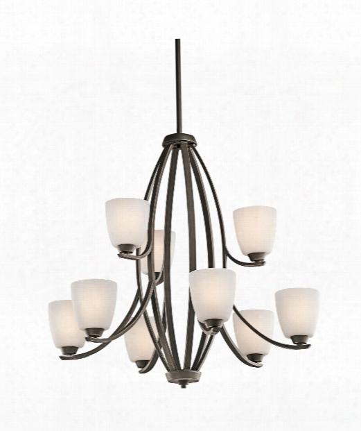 "Granby 33"" 9 Light Chandelier In Olde Bronze"