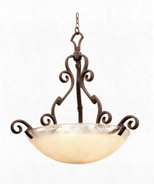 Ibiza 3 Light Large Pendant In Antique Copper