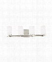 "Alturas 31"" LED 4 Light Bath Vanity Light in Brushed Nickel"