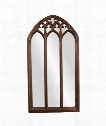 "Basilica 36"" Wall Mirror in Tuscan Brown"