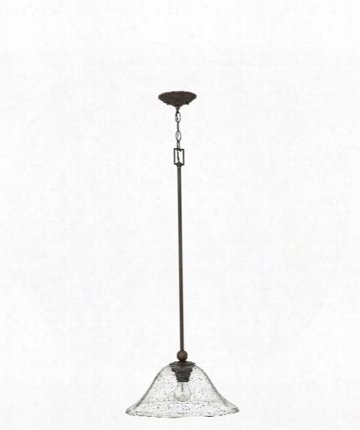 "Bolla 16"" 1 Light Large Pendant In Olde Bronze"