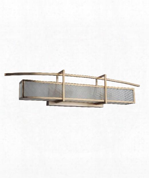 """Kodo 29"""" 3 Light Bath Vanity Light In Brushed Bronze"""