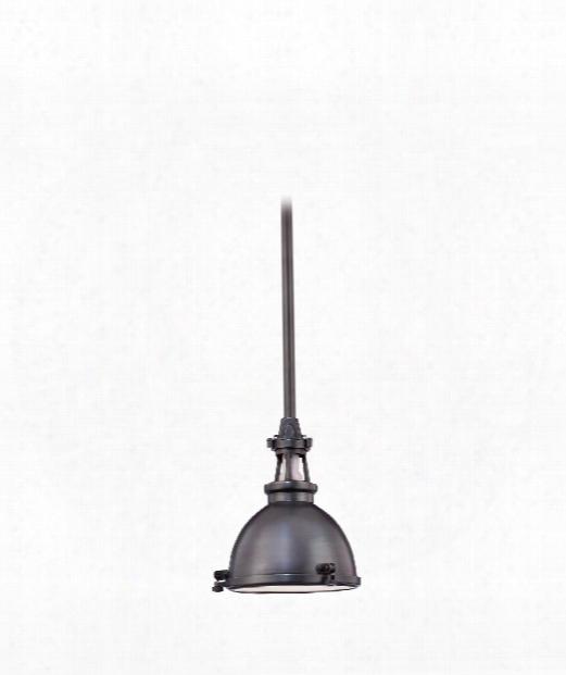 "Massena 10"" 1 Light Mini Pendant In Old Bronze"