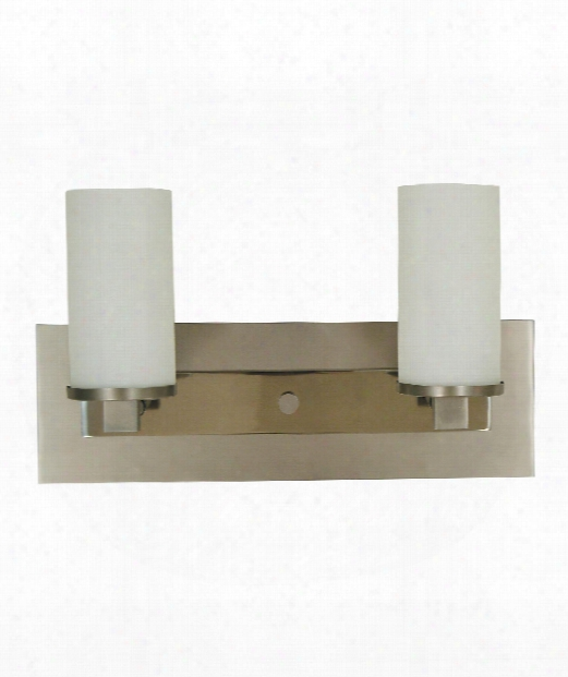 "Mercer 15"" 2 Light Wall Sconce In Satin Pewter-polished Nickel"