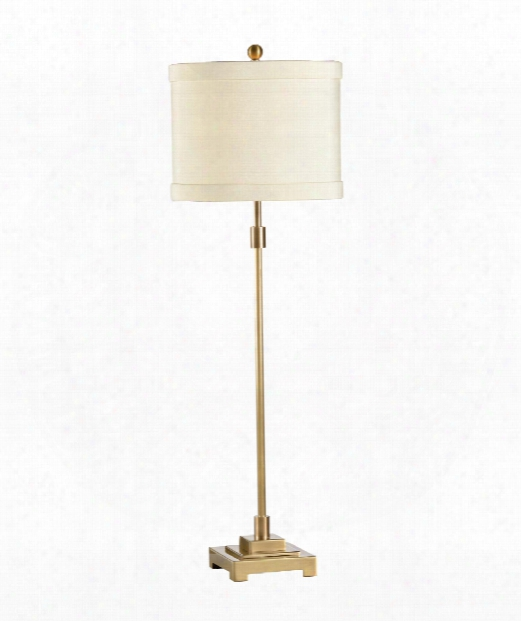 Slender 1 Light Accent Lamp In Antique Patina