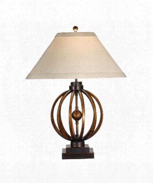 Sunset Longitude 1 Light Table Lamp In Iron