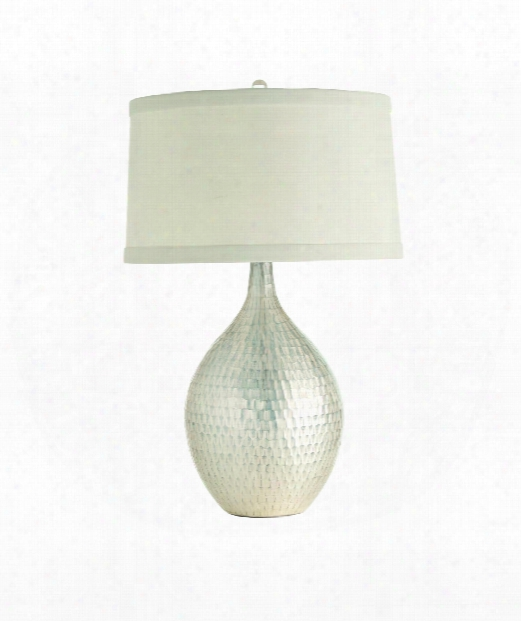 "Walter 17"" Table Lamp In Distressed"
