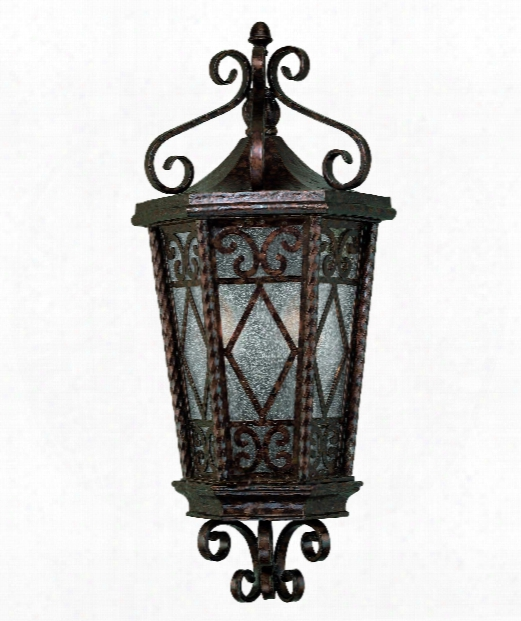 """Felicity 10"""" 2 Light Outdoor Outdoo Wall Light In New Tortoise Shell"""