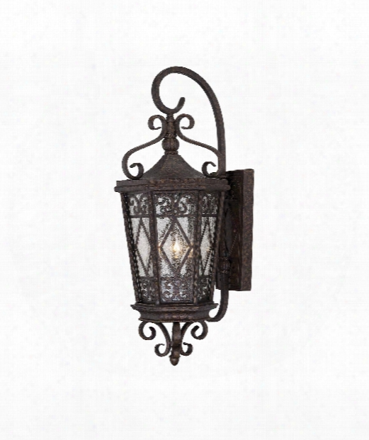 "Felicity 12"" 3 Light Outdoor Outdoor Wall Light In New Tortoise Shell"