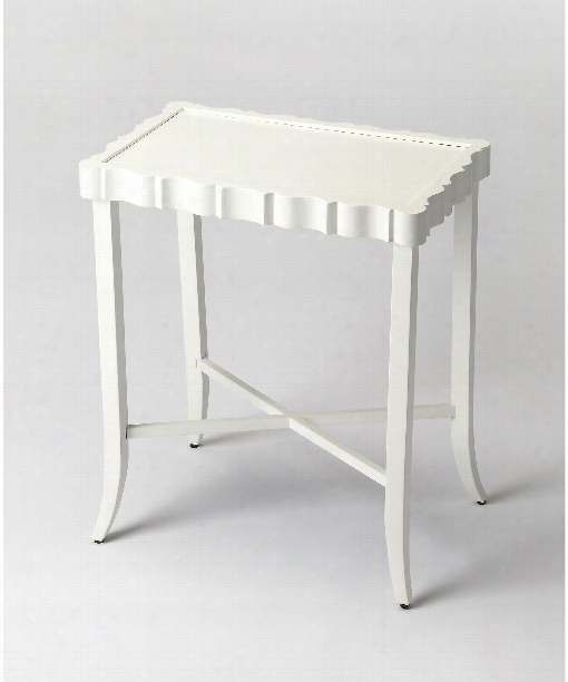 """Masterpiece 22"""" Coffee Table In Cottage White"""