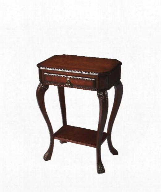 Plantation Cherry 22&q Uot; End Table In Plantation Cherry