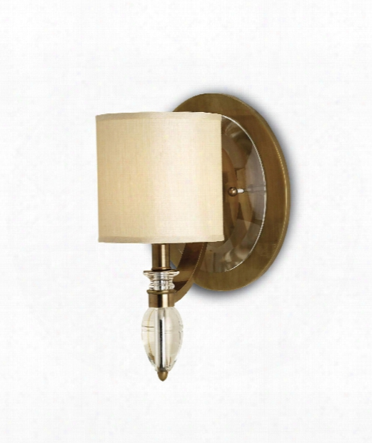 "Sebastion 9"" 1 Light Wall Sconce In Coffee Bronze"