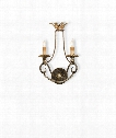 "Anise 11"" 2 Light Wall Sconce in Barcelona Gold-Gold Leaf-Silver Leaf"
