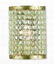 "Grammercy 6"" 1 Light Wall Sconce in Hand Applied Winter Gold"