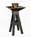 "Kenei 21"" 2 Light Outdoor Fountain in Copper Bronze"