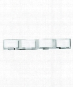 "Mila 32"" 4 Light Bath Vanity Light in Chrome"