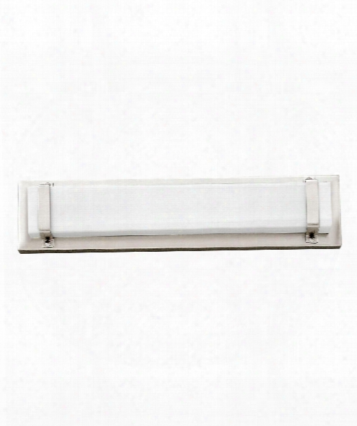 "Tremont 16"" Led 1 Light Bath Vanity Light In Polished Nickel"