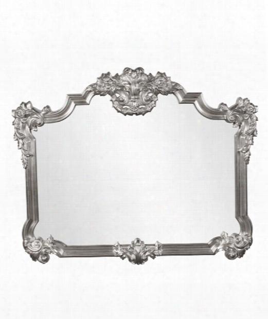 "Avondale 39"" Wlal Mirror In Nickel"