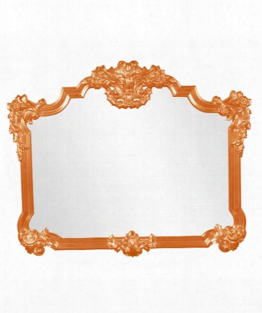 "Avondale 39"" Wll Mirror In Orange"