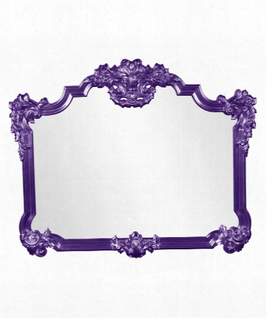 "Avondale 39"" Wall Mirror In Royal Purple"
