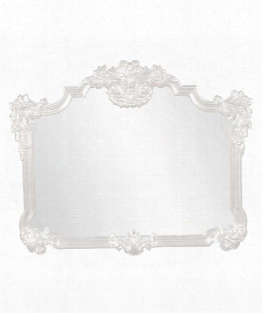 "Avondale 39"" Wall Mirror In White"