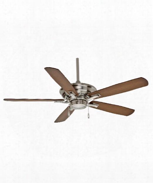 Ceiling Fan In Brushed Nickel