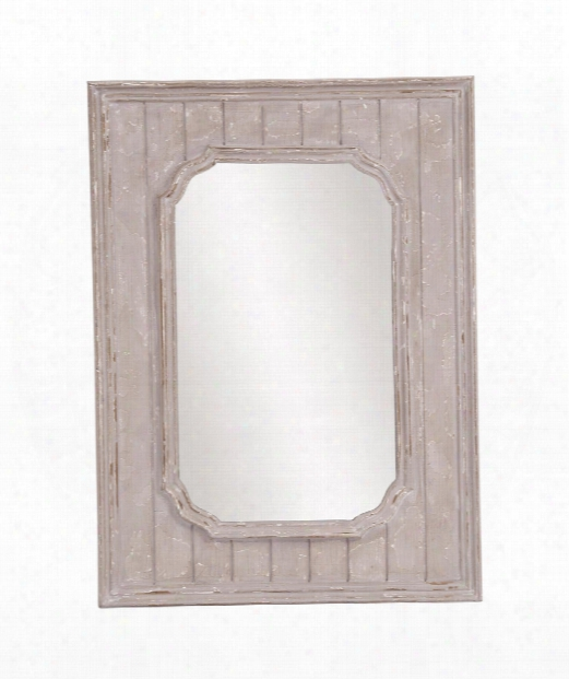 "Cooper 32"" Wall Mirror In Rustic Taupe"