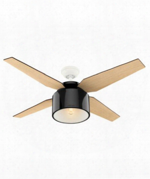 "Cranbrook 52"" Led 1 Light Ceiling Fan In Black"