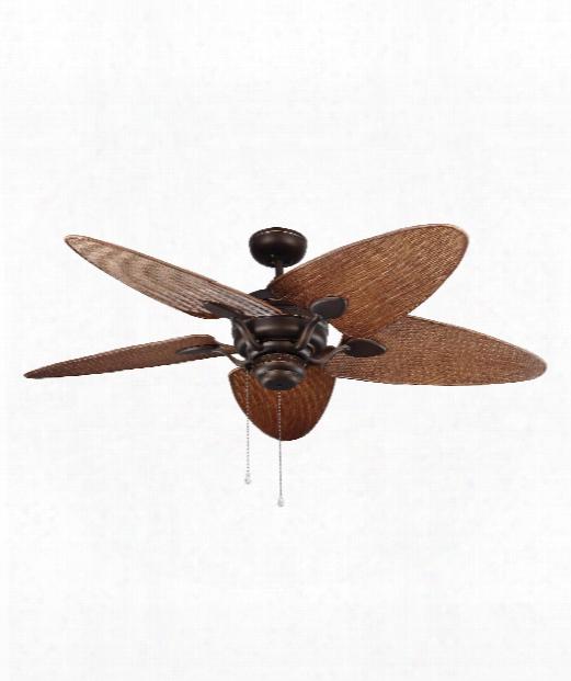 Peninsula Outdoor Ceiling Fan In Roman Bronze