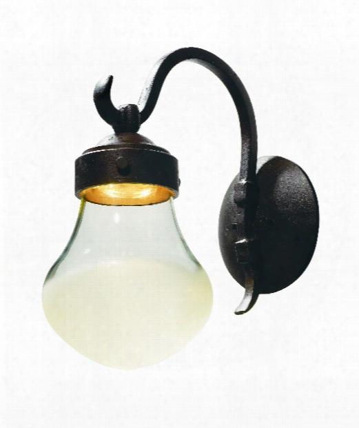 "Rustica 8"" Led 1 Light Outdoor Outdoor Wall Light In Rustic Bronze"