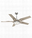 "Correne 11"" LED 1 Light Ceiling Fan in Brushed Nickel"