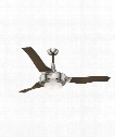 "Perseus 15"" LED 1 Light Ceiling Fan in Brushed Nickel"