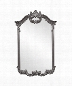 "Roman 32"" Wall Mirror in Charcoal Gray"
